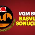 2017 - 2018 VGM Başbakanlık burs başvuru sonuçları