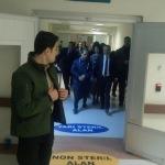 Vali Atik, hastanede denetimde bulundu