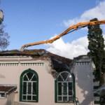 600 yıllık 'Anadolukavağı Çınarı' ayağa kaldırıldı