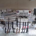 Hakkari'de 771 av tüfeği ile 645 kurusıkı tabanca bulundu