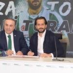 Ali Turan imzayı attı