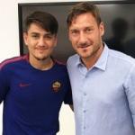 Cengiz Ünder, Totti ile karşılaşmasını anlattı