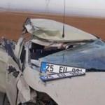Otomobil devrildi: 6 asker yaralı!