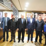 Vali Doğanay, MHP yönetimini kabul etti