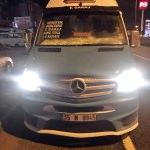 Hatlı minibüsle göçmen kaçakçılığı