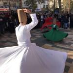 Kahramanmaraş'ta öğrencilerin semazen gösterisi