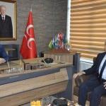 MHP Ereğli İlçe Başkanı Demirtürk'e ziyaret