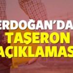 Taşerona kadro bekleyenlere Erdoğan'dan önemli açıklama
