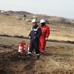 İş makinelerinin Mavi Akım Doğalgaz Boru Hattı'nda hasara yol açması