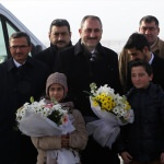 Adalet Bakanı Gül Erzurum'da