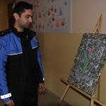 Engelli öğrenciler Şemdinli'de sergi açtı