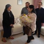 Ordu Valisi Yavuz'dan gazi ziyareti
