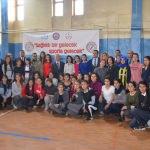 """Yüksekova'da """"Sağlıklı bir gelecek, sporla gelecek"""" projesi"""