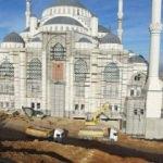 Çamlıca Camisi'nde sona yaklaşılıyor