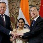 Çin, Rusya ve Hindistan 10 konuda anlaştı