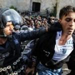İsrail polisi yine dehşet saçtı!