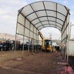 Van'da kaçak kesim yerleri yıkıldı