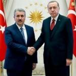 Cumhurbaşkanı Erdoğan Destici'yi aradı
