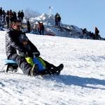 Uludağ'da kar kalınlığı 87 santimetre