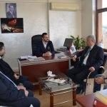 Belediye Başkanı Polat'dan AA'ya ziyaret