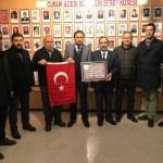 MHP Çubuk İlçe Teşkilatından şehit yakınlarına ziyaret