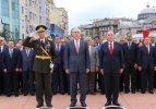 İstanbul'da törenler başladı