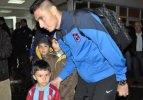 Trabzonspor kafilesi İstanbul'dan ayrıldı