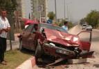 AK Parti meclis üyesi kaza yaptı