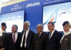 Alitalia-Etihad ortaklığında imzalar atıldı