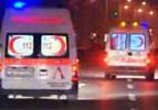 İşçi minibüsü otomobille çarpıştı: 12 yaralı