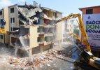 Bağcılar'da 18 binanın yıkımı yapıldı