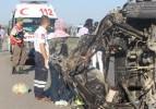 Çorum'da kaza: 1 ölü, 3 yaralı