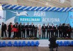 Davutoğlu Ağrı Havalimanı terminal binasını açtı