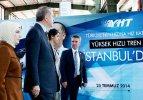 Erdoğan'dan YHT açılışında büyük müjde!
