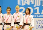 Gençlik Olimpiyatları'nda ilk madalya judodan
