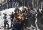 Halep'e Scud düştü: En az 47 ölü var!