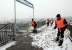 İstanbul'da yılın ilk karı beyaza bürüdü