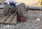 Kamyonet ile traktör çarpıştı: 1 ölü, 6 yaralı