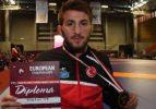 Milli güreşçi Avrupa üçüncüsü oldu