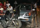 Otomobil, ATV aracına çarptı: 2 yaralı