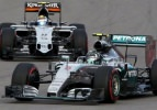 Rusya'da ilk cep Rosberg'in