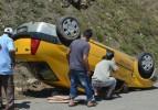 Samsun Ayvacık'ta kaza: 1 yaralı