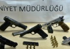 Nusaybin ve Kızıltepe'de silah yakalandı