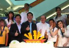 Sultan Kösen Tayland'da rekortmenlerle