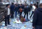 Taksim'de Kazancı yokuşunda patlama: 4 yaralı