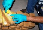 Islak mendiller arasında 56.8 kiloluk eroin zulası