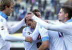 Trabzon'un rakibi Napoli deplasmanda güldü