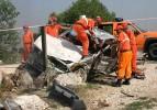 Yeğenin cenazesine giderken kazada öldü