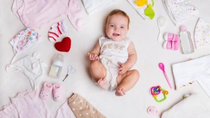Bebek giydirirken nelere dikkat edilmeli?