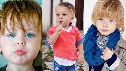 Erkek çocukları için saç modelleri